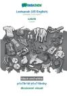 BABADADA black-and-white, Leetspeak (US English) - català, p1c70r14l d1c710n4ry - diccionari visual: Leetspeak (US English) - Catalan, visual dictiona Cover Image