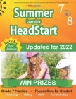 Summer Learning HeadStart, Grade 7 to 8: Fun Activities Plus Math, Reading, and Language Workbooks: Bridge to Success with Common Core Aligned Resourc Cover Image
