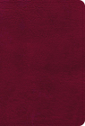NASB Large Print Compact Reference Bible, Burgundy Leathertouch Cover Image