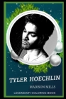Tyler Hoechlin Legendary Coloring Book: Relax and Unwind Your Emotions with our Inspirational and Affirmative Designs Cover Image