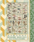 Vintage marine biology illustrations: Full colour whimsical vintage fauna ephemera for the ichthyologist enthusiasts, marine scrapbooker or marine lif Cover Image