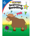 Beginning Reading, Grade K: Gold Star Edition (Home Workbooks) Cover Image