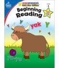 Beginning Reading, Grade K: Gold Star Edition (Home Workbooks) Cover Image
