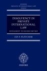 Insolvency in Private International Law: Supplement to Second Edition (Oxford Private International Law) Cover Image