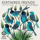 Feathered Friends 2022 Wall Calendar: Watercolor Bird Illustrations Cover Image