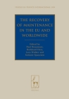 The Recovery of Maintenance in the EU and Worldwide (Studies in Private International Law #15) Cover Image