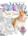 EASTER Egg and Easter bunny coloring book for adults Realistic grayscale coloring books for adults Cover Image