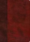 ESV Single Column Journaling Bible, Large Print (Trutone, Burgundy/Red, Timeless Design) Cover Image