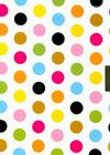 Fiesta Dots Locking Journal Cover Image