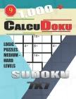 1,000 + Calcudoku sudoku 7x7: Logic puzzles medium - hard levels Cover Image