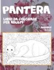 Libri da colorare per adulti - Mandala - Animale - Pantera Cover Image