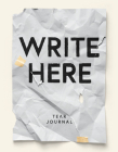 Write Here Tear Journal, 200 Perforated Pages, Hardcover Notebook, 6x8.5 Easy Tear Pages Cover Image