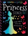 Scratch and Sparkle Princess Stencil Art Cover Image