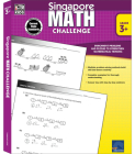 Singapore Math Challenge, Grades 3 - 5 Cover Image