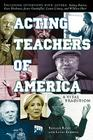 Acting Teachers of America: A Vital Tradition Cover Image