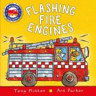 Flashing Fire Engines (Amazing Machines) Cover Image