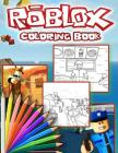 Roblox Coloring Book: Roblox Jumbo Coloring Book For all Fans and Kids Ages 4-8 With High Quality Images Cover Image