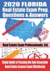 2020 Florida Real Estate Exam Prep Questions & Answers: Study Guide to Passing the Sales Associate Real Estate License Exam Effortlessly Cover Image
