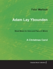 Adam Lay Ybounden - Sheet Music for Voice and Piano (C Minor) - A Christmas Carol Cover Image