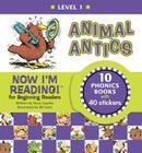 Now I'm Reading! Level 1: Animal Antics (NIR! Leveled Readers) Cover Image