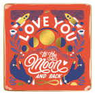Love You To The Moon and Back Porcelain Tray Cover Image