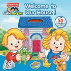 Fisher-Price Little People Welcome to Our House Panorama Stickerbook Cover Image