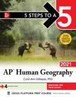 5 Steps to a 5: AP Human Geography 2021 Cover Image
