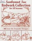 Sunbonnet Sue Redwork Collection: For All Seasons Cover Image