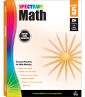 Spectrum Math Workbook, Grade 5 Cover Image