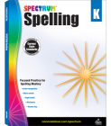Spectrum Spelling, Grade K Cover Image