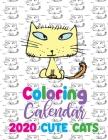 Coloring Calendar 2020 Cute Cats Cover Image