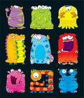 Monsters Prize Pack Stickers Cover Image
