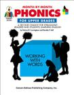 Month-By-Month Phonics for Upper Gra Cover Image