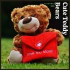 Cute Teddy Bears 2021 Calendar: Teddy Bear Calendar (Monthly Calendar) Cover Image