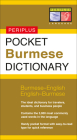 Pocket Burmese Dictionary (Periplus Language) Cover Image