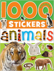 1000 Stickers: Animals Cover Image