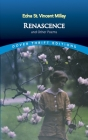 Renascence and Other Poems (Dover Thrift Editions) Cover Image