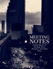 Meeting Minutes: Secretary Notebook - Logbook Notes Journal -Business Meeting Log - Minute Record and Recap Cover Image