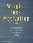 Weight Loss Motivation in a book Cover Image
