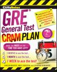 CliffsNotes GRE General Test Cram Plan 2nd Edition Cover Image