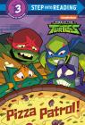 Pizza Patrol! (Rise of the Teenage Mutant Ninja Turtles) (Step into Reading) Cover Image