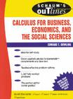Schaum's Outline of Calculus for Business, Economics, and the Social Sciences (Schaum's Outlines) Cover Image