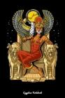 Egyptian Notebook: Egyptian Goddess Sekhmet Notebook Cover Image