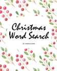 Christmas Word Search Puzzle Book (8x10 Puzzle Book / Activity Book) Cover Image