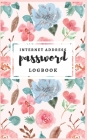 Password Logbook: Pink Watercolor Password Book Small: Internet Password Logbook To Protect usernames; Keep track of: usernames, passwor Cover Image