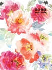 2021-2023 Monthly Planner: Large Three Year Planner with Floral Cover (Volume 1 Hardcover) Cover Image