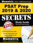 PSAT Prep 2019 & 2020 - PSAT Secrets Study Guide, Full-Length Practice Test with Detailed Answer Explanations: [includes Step-By-Step Review Video Tut Cover Image