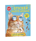 Sticker Photo Mosaic: Cats & Kittens Cover Image