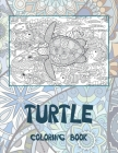 Turtle - Coloring Book Cover Image