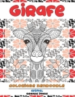 Coloriage Zendoodle - Grande image - Animal - Girafe Cover Image